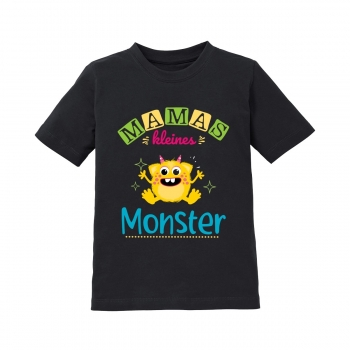 Kinder T-Shirt Modell: Mamas kleines Monster.