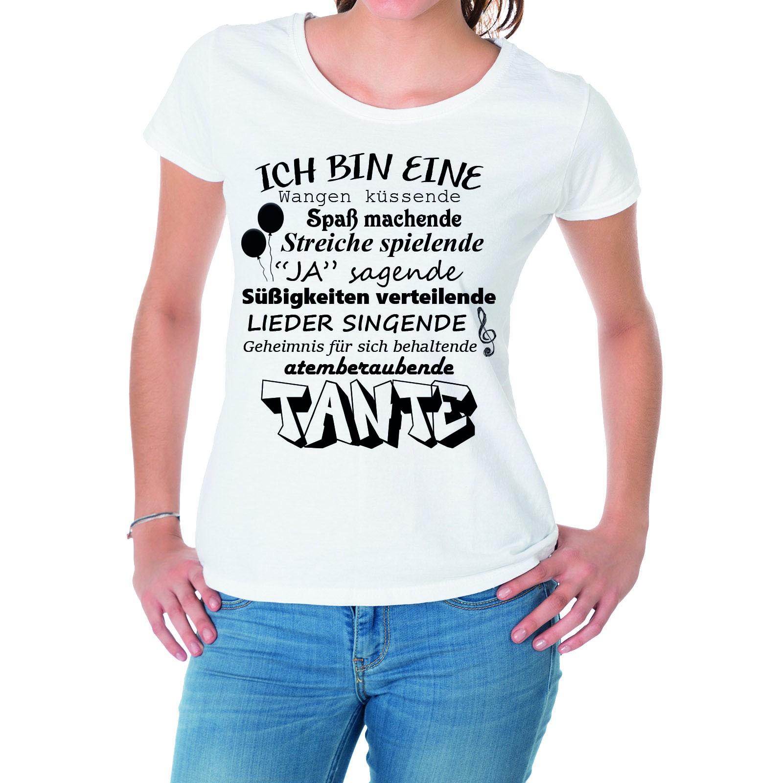 Damen Shirt Damen T Tante T ModellAtemberaubende 3R4qL5Aj